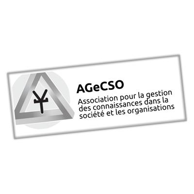 AGeCSO, Association pour la gestion des connaissances dans la société et les organisations
